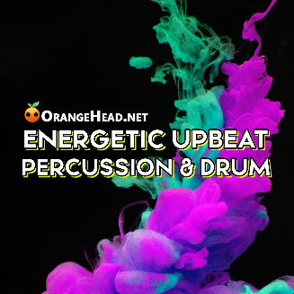 动感活力节奏 Upbeat Percussion Drum