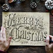 圣诞帷幕-We Wish You A Merry Christmas
